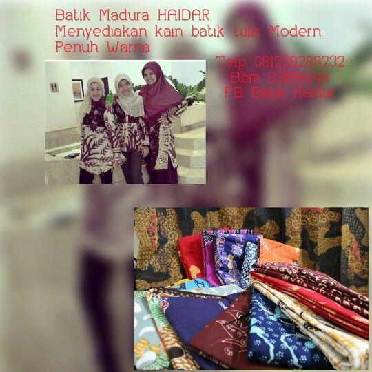 Batik Tulis Madura HAIDAR