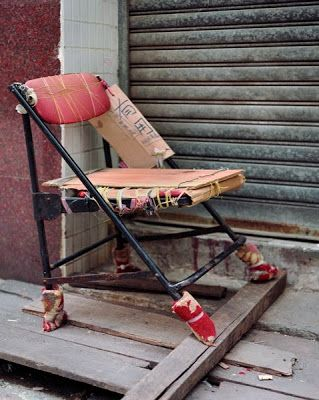 accidental mysteries: The Bastard Chairs of China