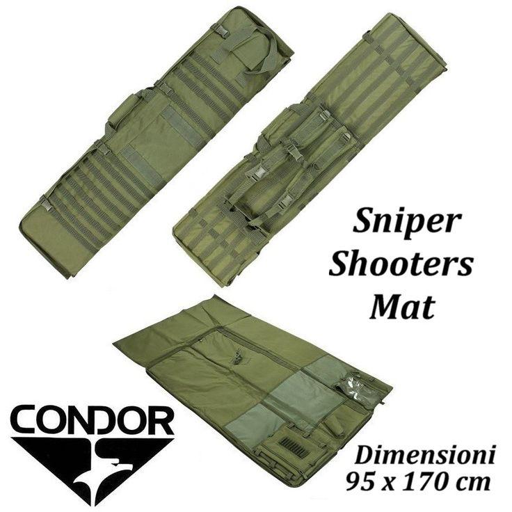 Condor Sniper Shooters Mat olive drab - Custodie fucile - Equipment