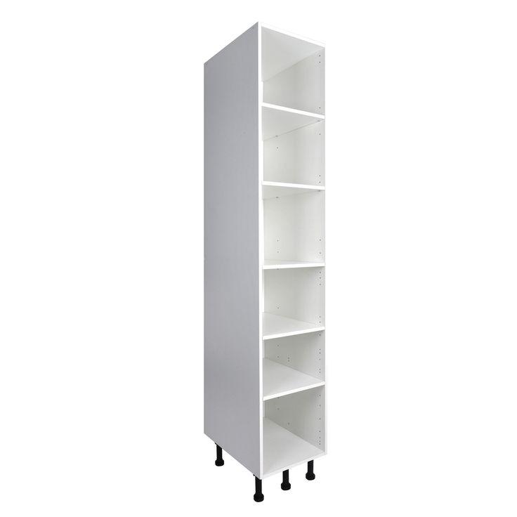 perfect caisson de cuisine colonne c delinia blanc l x h x p cm leroy with sortie de caisson. Black Bedroom Furniture Sets. Home Design Ideas