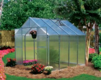 Monticello Greenhouse 20FT Aluminum  Monticello Greenhouse Not all greenhouses are built the same and the Monticello Greenhouse by Riverstone Industries proves this to be true. The Monticello is proudly MADE IN THE USA from start to finish.