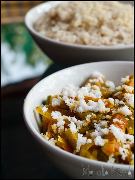 Indian food - Tendli Bhaji sabzi or also known as the Ivy Gourd vegetable is a common ingredient in Indian vegetarian cooking.