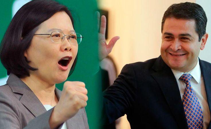 Presidente de Honduras felicita a Tsai Ing-wen por victoria electoral en Taiwán