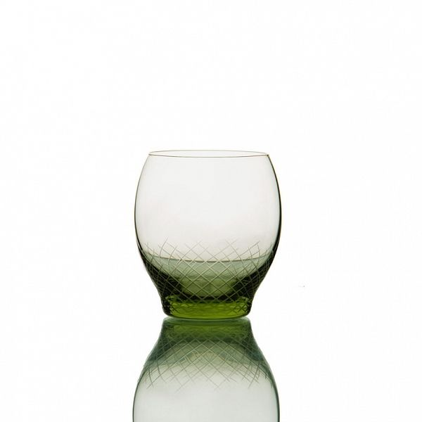 PRODUCTS :: LIVING AND DESIGN :: Kitchen :: Glasses :: Sera-Irida бокал для воды (Sedozelena - светло-зеленый)