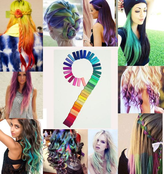 167 best Hair color chalk images on Pinterest | Hairstyles, Make ...