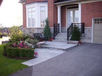 8 best steps walkways stairs and rocks images on pinterest for Garden design ideas toronto