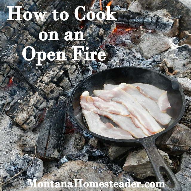 How to Cook on an Open Fire - Montana Homesteader | #aaa #camping www.aaa.com/travel