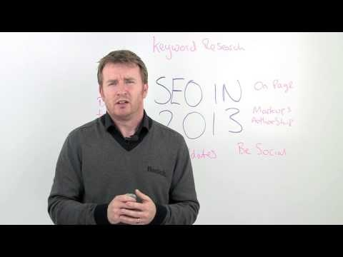 SEO Techniques For 2013