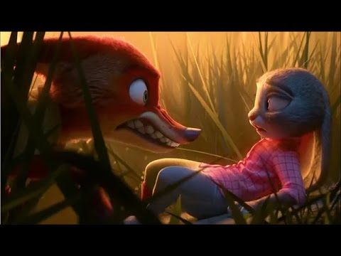 Zootopia clip - about bullying, expected/unexpected behavior, fear