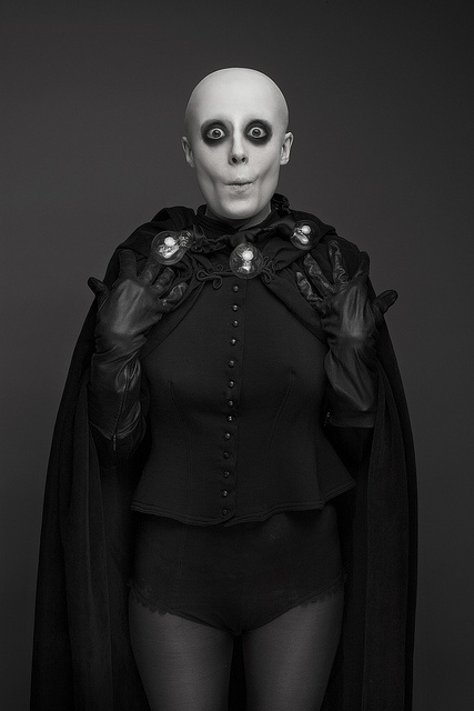 Addams Family inspired: Uncle Fester