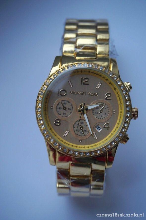 zegarek MICHAEL KORS MK 1038 złoty bransoleta   Cena: 149,00 zł  #nowyzegarek #michaelkorszegarek #zoltezegarkimichaelkors