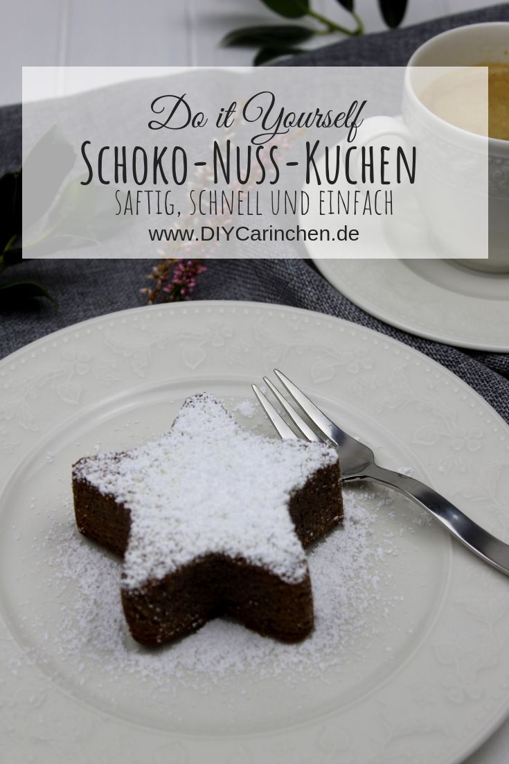 Rezept Weihnachtlicher Saftiger Schoko Nuss Kuchen Und Ein