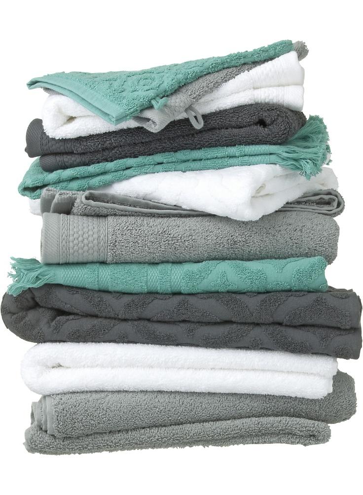 Mooie kleurencombinatie voor de handdoeken! Tijd om de limegroene handdoeken de…