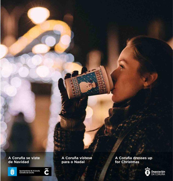 ¡Bienvenido diciembre! Aprovecha al máximo el último mes del 2017. Descubre en nuestra guía de ocio todo lo que te ofrece nuestra ciudad ➡http://bit.ly/guia48coruna ¡A Coruña se viste de Navidad! #VisitaCoruña