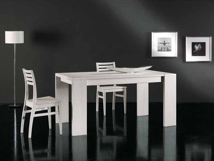 Tavolo in legno allungabile ROVIGO - Tavoli Moderni - Tavoli & Sedie ...