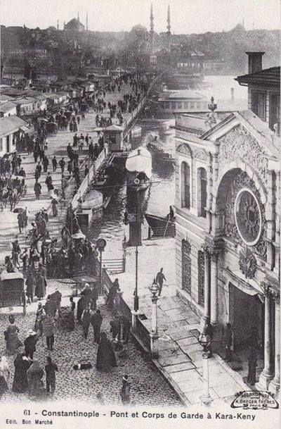 Karaköy, Aziziye Karakolu, 1900 ler #istanbul #armanca