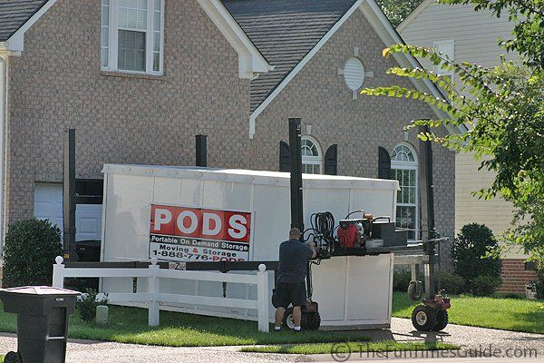 If you've been thinking about using one of those PODS for your moving & storage needs... check here first! Get a promo code for local OR long distance moves here. And hear from others who have used PODS before...