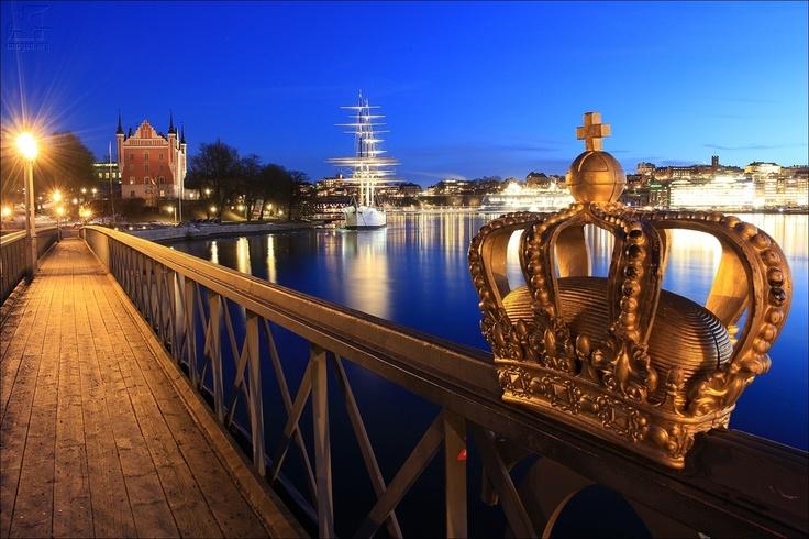 Skeppsholmsbron - Stockolm - Sweden