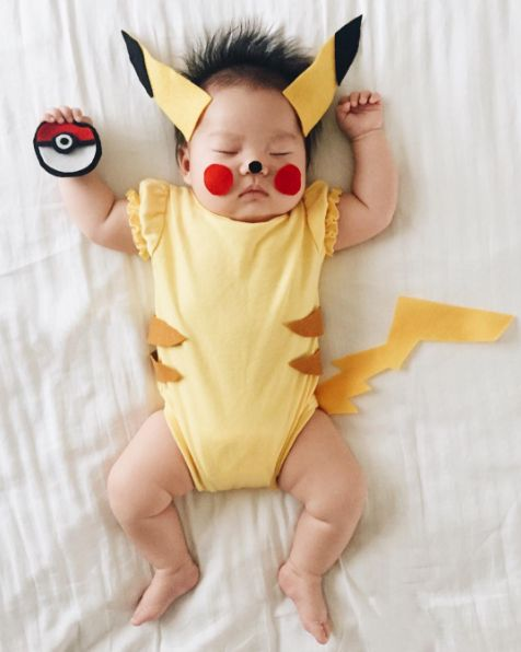 Joey even got in on the Pokemon Go trend, dressing up as Pikachu.