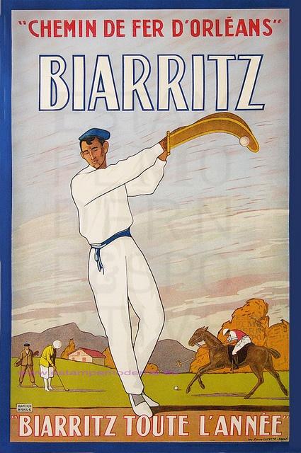 Ramiro Arrue 1925 Biarritz
