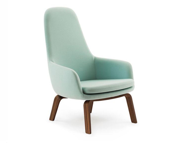 Křeslo Era Lounge od Normann Copenhagen, Walnut Fame, vysoké   DesignVille