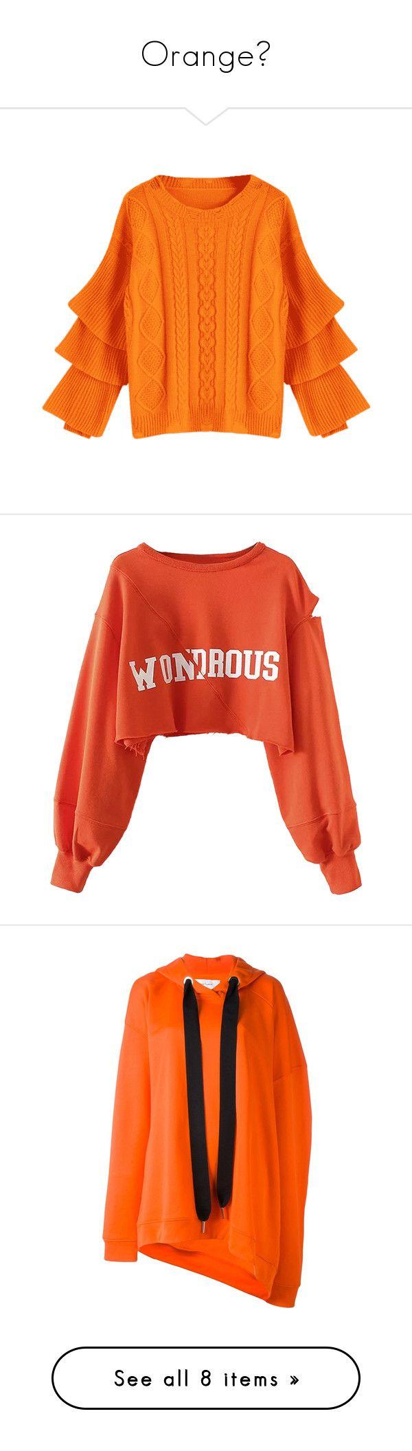 Best 25  Orange sweaters ideas on Pinterest | Orange top outfit ...