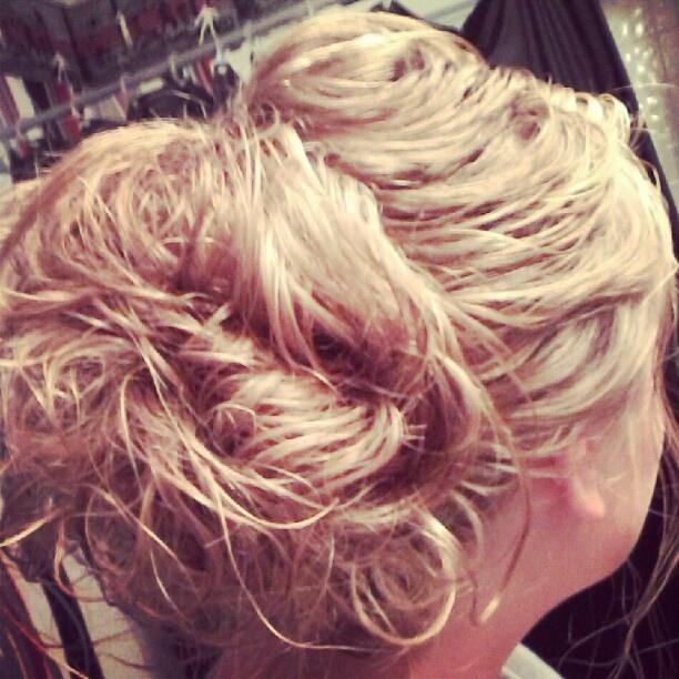 Apostolic pentecostal hairstyle Messy Bun Beautiful