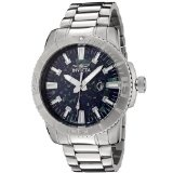 Invicta Men's 0105 II Collection Stainless Steel Azurite Stone Dial Watch (Watch)