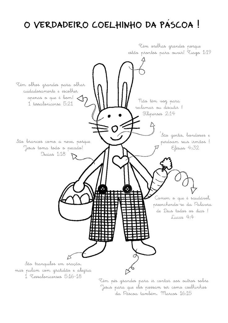 O verdadeiro coelho da Páscoa!: Ideas For, Using, Things To, Easter, For Offenses