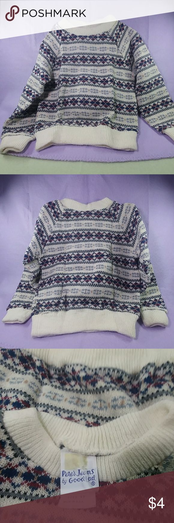 Boys Argyle Sweater Boys argyle sweater. 4t. No observed holes or stains. Shirts & Tops Sweaters