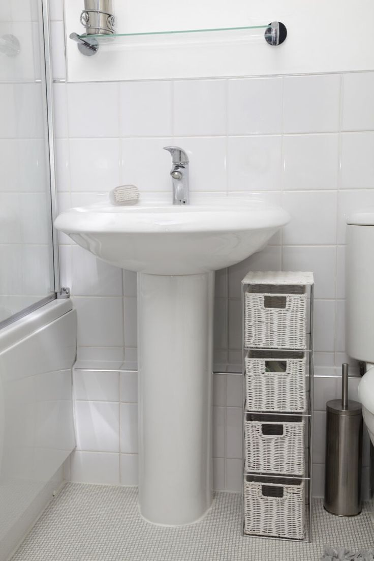25 Best Ideas About Pedestal Sink Storage On Pinterest Pedistal Sink Bathroom Storage Units
