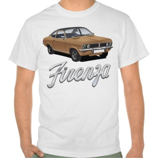 Vauxhall Firenza brown with black roof with text  #vauxhall #firenza #vauxhallfirenza #automobile #tshirt #tshirts #70s #classic