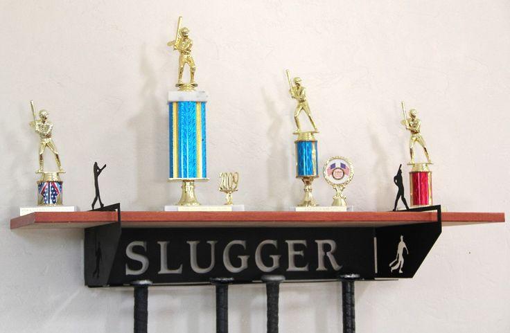 Baseball Trophy Shelf and Bat Holder: Personalized  Medals Holder or Bat  Hanger #baseball-bat-holder #baseball-trophy-shelf #fencing-medal-holder #gymnastics-medal-hanger #gymnastics-medal-holder #gymnastics-medals-display #medal-display #medal-hanger #medal-hanger-gymnastics #medal-hangers #medal-holder #medal-holder-gymnastics #medal-holder-wrestling #personalized #personalized-gymnastics-medal-display #trophy-shelf #trophy-shelf-personalized #trophy-shelve #wrestling-medal-display…