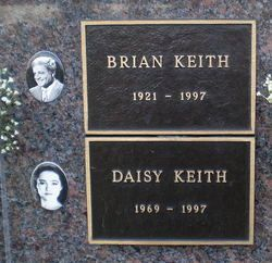 Brian Keith & his daughter, Daisy.