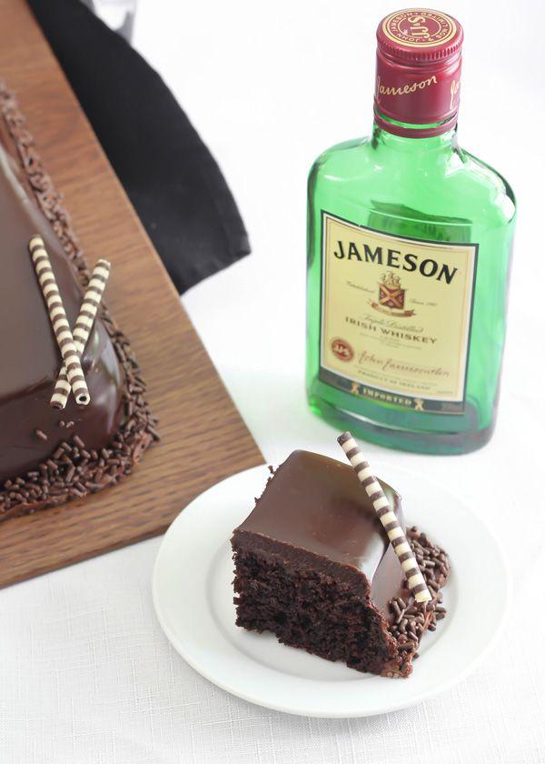 Gateau nature au whisky