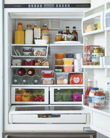 Refrigerator organization made easy martha stewart