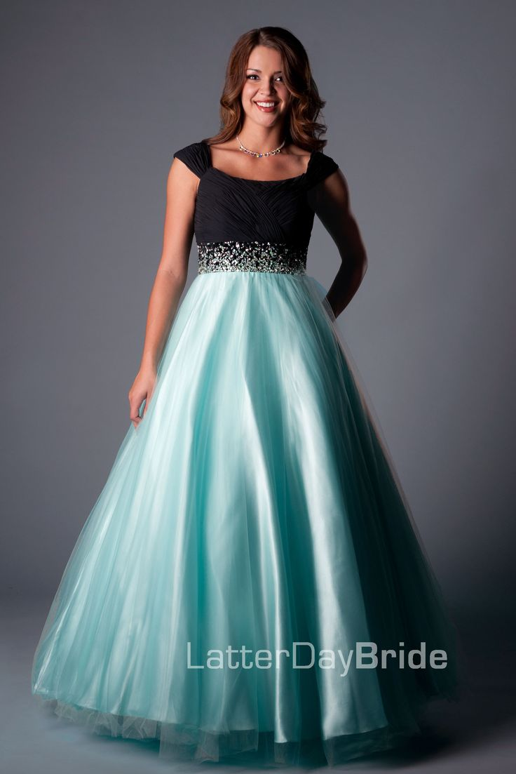 100 best Modest Prom Dresses images on Pinterest | Evening gowns ...