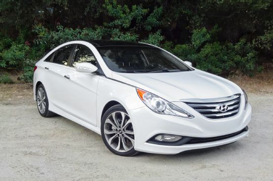 Hyundai Sonata. I would love it with rose gold rims