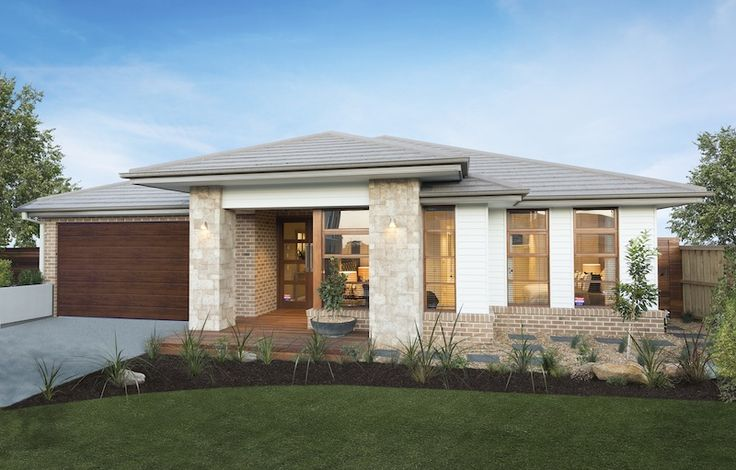 Bolton masterton fa ade by simonds homes woodleaestate for Home designs masterton