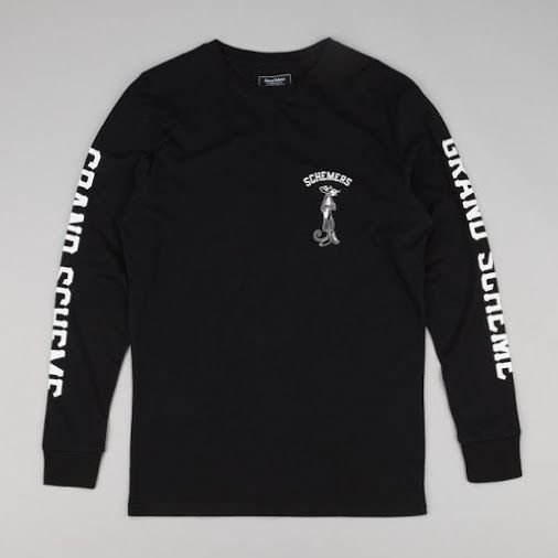 Black Panther L/S T  By Grand Scheme