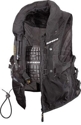 Spidi Motorcycle Vests - SPIDI NECK DPS AIR-BAG MOTORCYCLE VEST Jazz Motorsports
