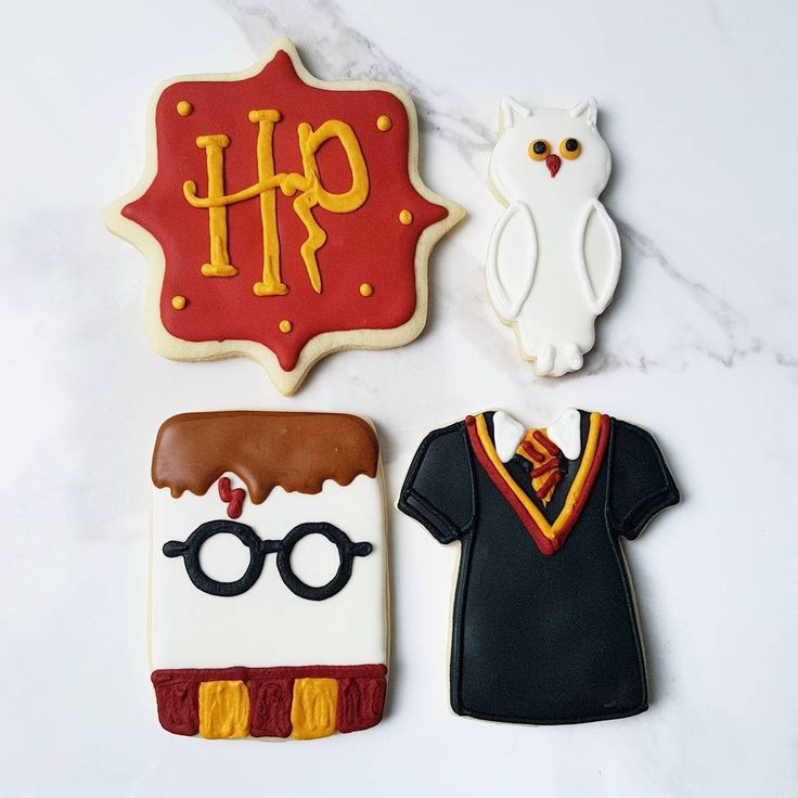 Harry Potter Cookies | Eini & Co.