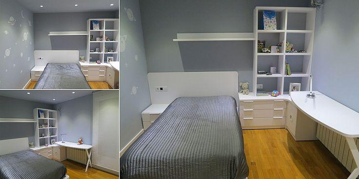 17 best images about segundo concurso fotograf a lagrama - Dormitorio juvenil con escritorio ...