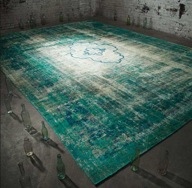 alfombra persa moderna