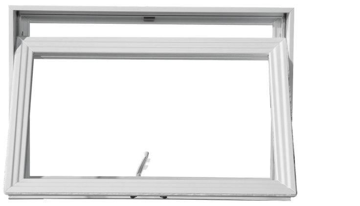 La fenêtre à auvent Constellation porte bien son nom, car elle s'ouvre en effet vers le ciel comme un auvent, ce qui permet la libre circulation de l'air tout en protégeant l'ouverture contre l'infiltration d'eau. Simple mais efficace!