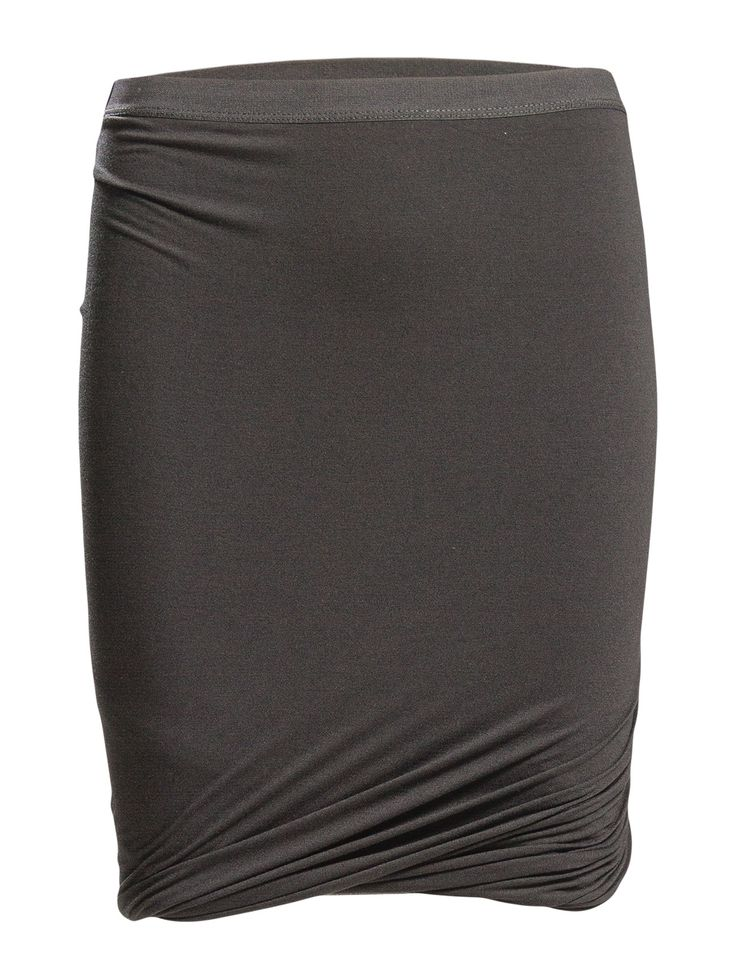 DAY - Day Clean Twist This mini skirt features an interesting twist detail.   Ruching Elastic waistband Pencil skirt Elegant sophistication with a modern twist Excellent quality and fit