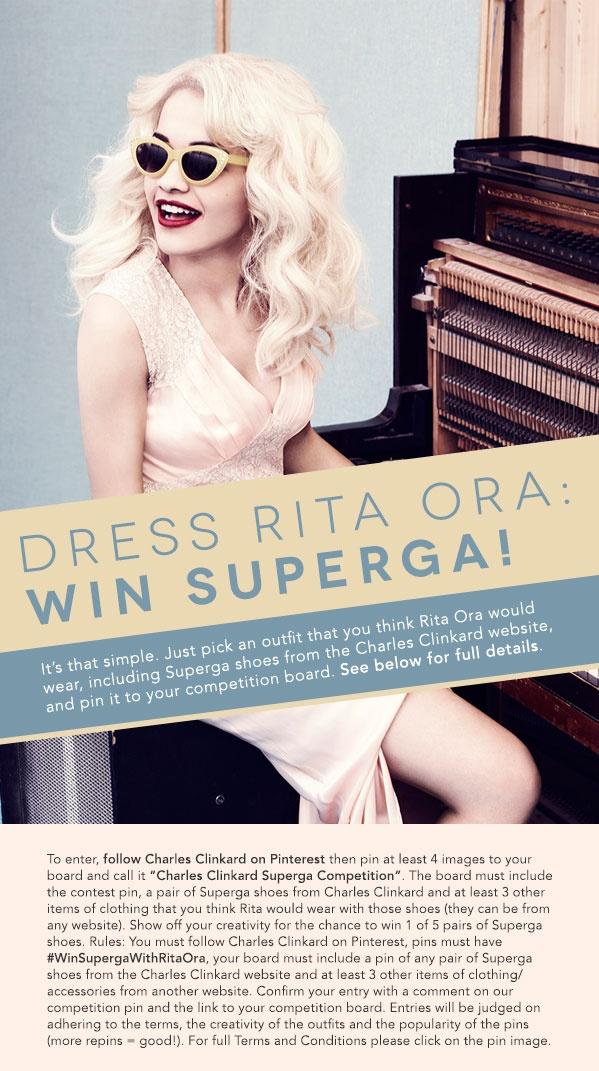 Dress Rita Ora: Win Superga!