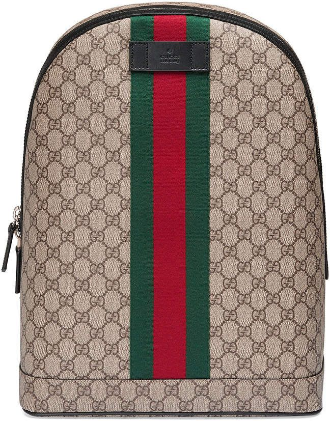cc970dd8156f Gucci GG Supreme backpack with Web #gucci #baby ##ShopStyle #MyShopStyle  click link for more information