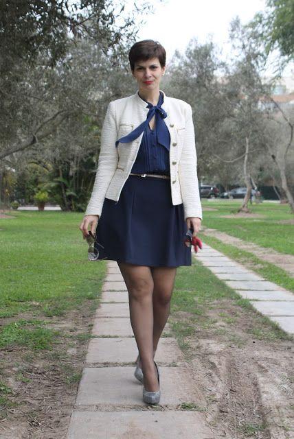 Divina Ejecutiva: Mis Looks - Azul + Azul
