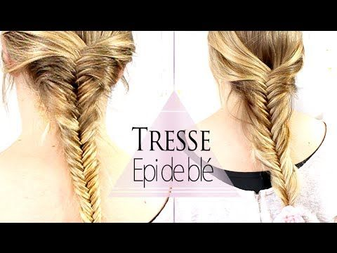Tresse épi de blé // Fishtail braid // Facile - YouTube